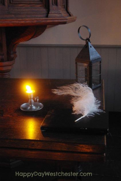 A christmas carol lantern