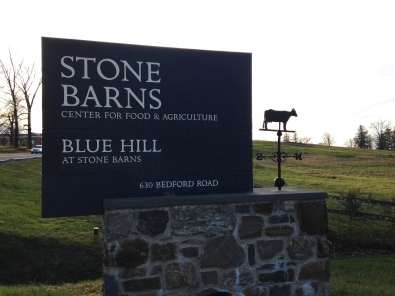 stone barns sign