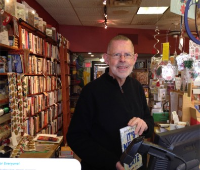 Bob was friendly and helpful - and had book recommendations scattered around the store