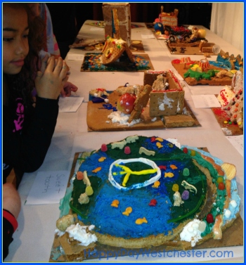 Happy Day Westchester Woodloch gingerbread creations