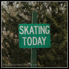 happy day westchester skating sign leonard park