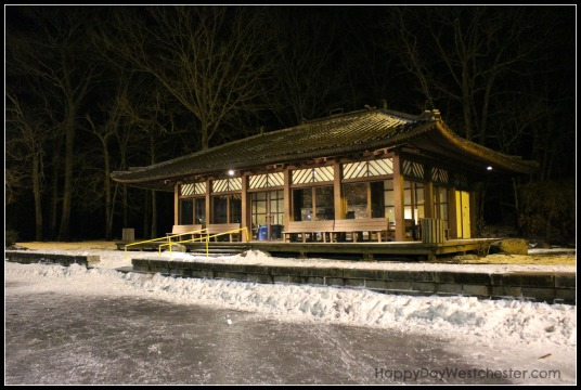 happy day westchester tea house at night
