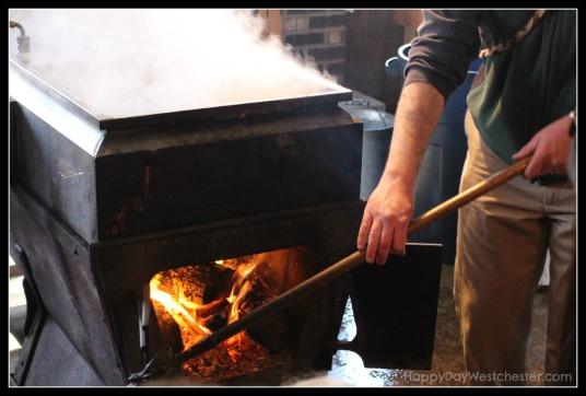 Happy Day westchester ward pound ridge fire sugar shack