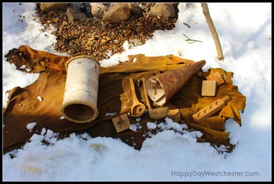 Happy Day Westchester Ward Pound Ridge Sugaring tools