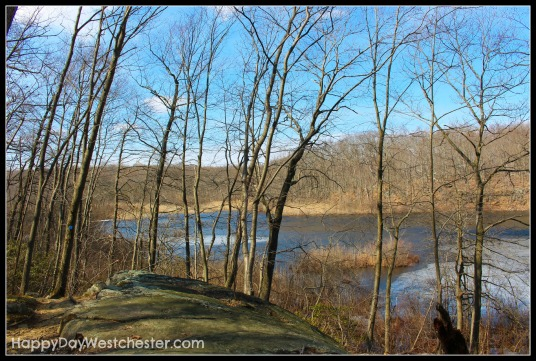 Happy Day Westchester Cranberry Lake Rock view